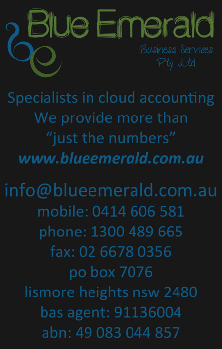 Blue Emerald - Adelaide Accountant