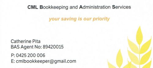 CML Bookkeeping And Administration Services - Adelaide Accountant