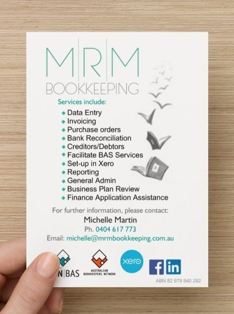 MRM Bookkeeping - Adelaide Accountant