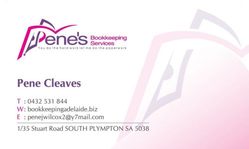 Pene's Bookkeeping Services - Adelaide Accountant