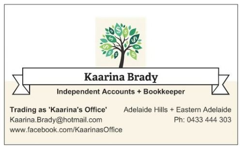 Kaarina's Office - Adelaide Accountant