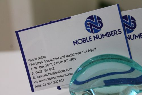 Noble Numbers - Adelaide Accountant