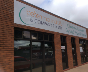 Peter Maundrell  Company Pty Ltd - Adelaide Accountant